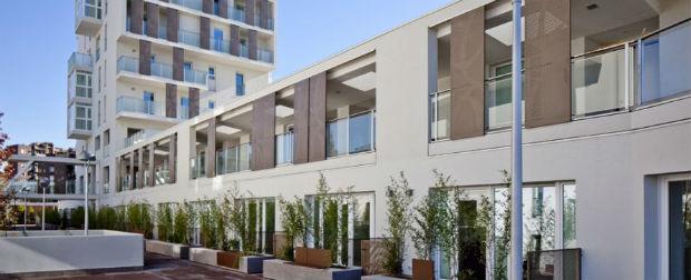 Milano - uno dei più grandi ecoquartieri in legno d'Europa: 124 alloggi in Classe A costruiti con la tecnologia XLAM.