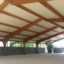 Tensostruttura per sala ristorante – San Giovanni La Punta (CT)