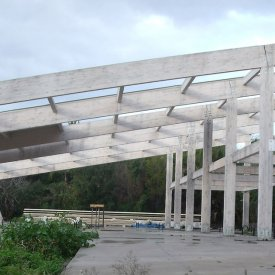 Serra in legno lamellare (CT)